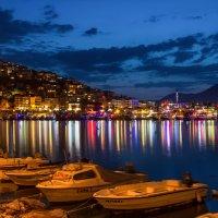 Ночь над портовым городом :: Наталья Ерёменко