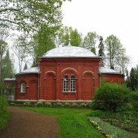 Церковь Преподобных Отцов, в посте и молитве просиявших. Игуменское кладбище :: Елена Павлова (Смолова)