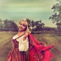 Тёплый ветер :: Olga Zhukova