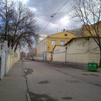 Старая улица Москвы :: Борис Александрович Яковлев