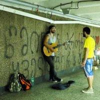 Уличный музыкант :: Наталья (D.Nat@lia) Джикидзе (Берёзина)
