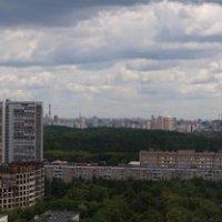 Москва от Останкино до Воробьёвых гор :: Михаил Малец