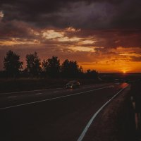 Красивый закат :: melnikofff Мельников