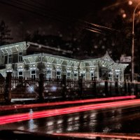 Мокрый вечер :: Александр Решетников