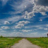 По дороге с облаками... :: Ксения Довгопол