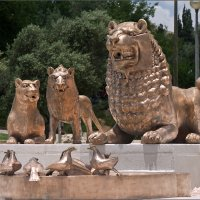 Иерусалим. Фонтан со львами. Фрагмент :: Lmark