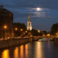 Вид на Крюков канал и колокольню Никольского собора :: Владимир Демчишин