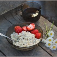 Летний завтрак. :: Елена Прихожай