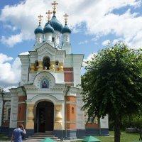 Жемчужина Мариенбурга -  красивая Покровская церковь :: Елена Павлова (Смолова)