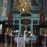 В церкви покрова Божией Матери в Маритенбурге :: Елена Павлова (Смолова)