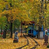 Осенний полустанок :: Сергей Тарабара
