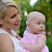Алиса с мамой Инной :: Анна Емельянова