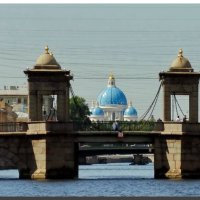 Мост Ломоносва. :: Владимир Гилясев