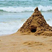 песочный замок :: Мария Климова