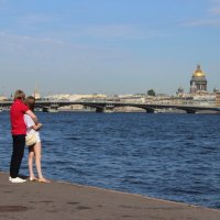 Двое в городе :: Вера Моисеева