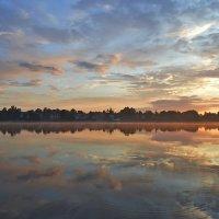 На закате после дождя :: Юрий Цыплятников