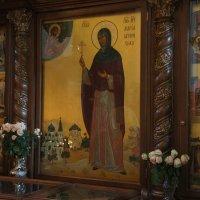 Рака с мощами святой Марии Гатчинской в Павловском соборе (г. Гатчина) :: Елена Павлова (Смолова)