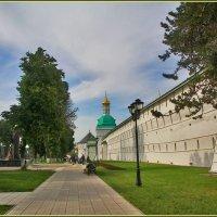 под стенами Лавры :: Дмитрий Анцыферов