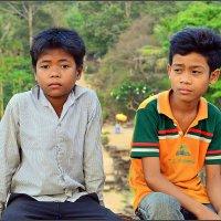 Камбоджа# Дети Ангкора :: Дмитрий