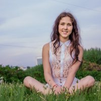 Природа и девушка :: Олеся Лапшина