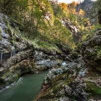 Гуамское ущелье :: Геннадий Клевцов