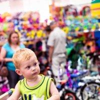 В детском мире, в магазине, где игрушки на витрине.... :: Татьяна ...я только учусь....
