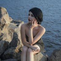 На берегу :: Анна Каспер