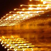 ночной мост через Сож :: Александр Прокудин