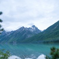 Горный Алтай. Кучерлинское озеро. :: Антон Ткачев