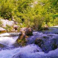 норовистая река :: Андрей Козлов