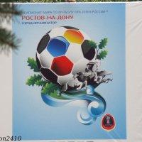 Эмблема Большого ростовского футбола :: Нина Бутко