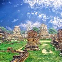Аютайя (исторический город,Тайланд) :: Евгений Подложнюк