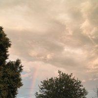 Немного радуги над селом. :: Андрий Майковский