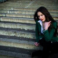 Портрет на лестнице :: Юлия Мищенко