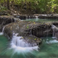 Каскад водопада Эраван :: Евгений Печенин
