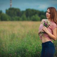 в поле :: Ольга Челышева