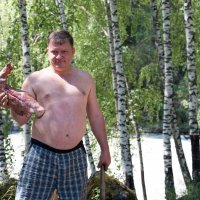 Лапа медведя. :: Иван Янковский