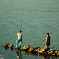 Ты рыбачка, я рыбак... :: vcherkun