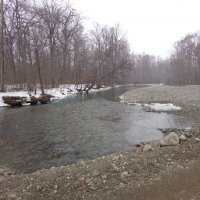 Река оттаяла :: Жанетта Буланкина