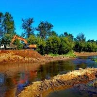 углубление реки :: Сергей Кочнев