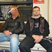 Конь в метро :: Андрей Дворников