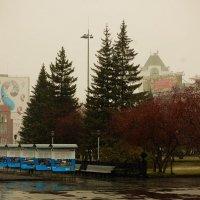 Новосибирск,площадь Ленина :: Александра Зайнутдинова