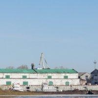 Фотопанорама нижегородского речного порта :: Александр Табаков
