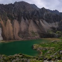 Верхнее озеро - исток Перевальной :: Виктор Никитин