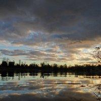 Вечер на Суздальском озере :: Юрий Цыплятников