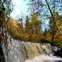 Водопад на реке Белой. :: Константин Иванов