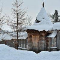 Музей деревянного зодчества Малые Корелы (фрагмент) :: Алёна Михеева