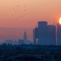 Добрый вечер, Москва! :: Виктор Перякин