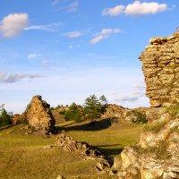 скальные останцы Тажеранских степей :: Дмитрий Шматков