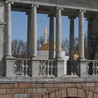 Пушкин. Вид на Палладиев мост и Турецкую баню :: Юрий Цыплятников
